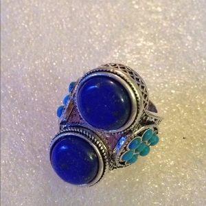 Vintage lapis ring